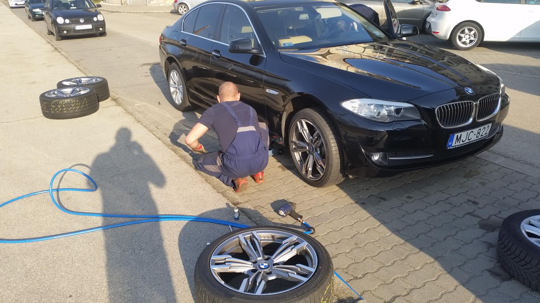 BMW gumicsere