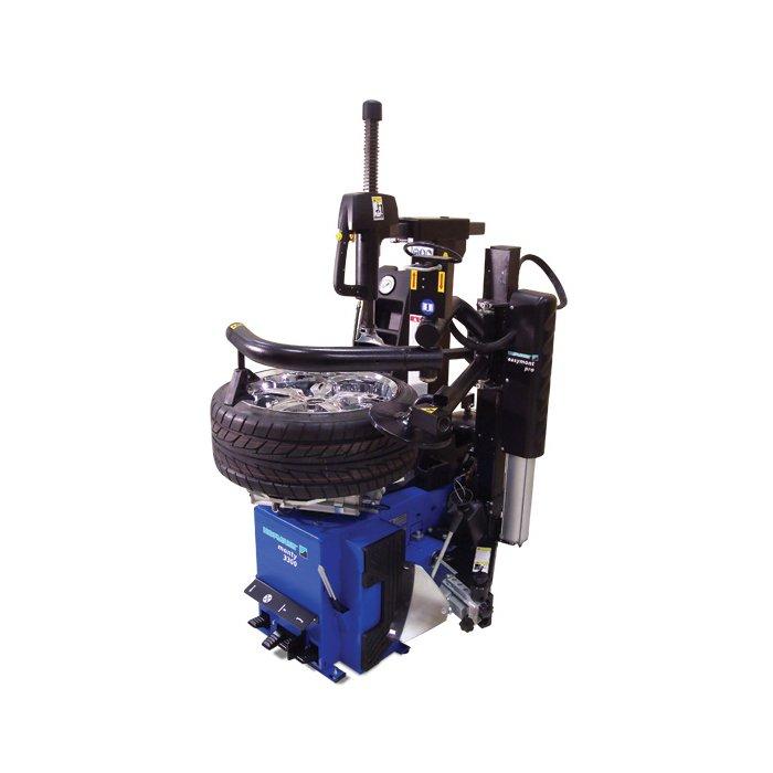 Speciális segédkaros gumiszerelő gép